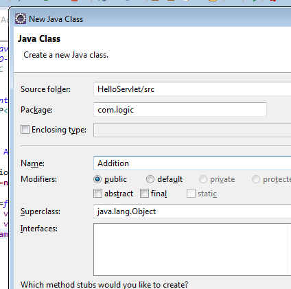 Simple Servlet And Jsp Examples Using Eclipse And Jboss As